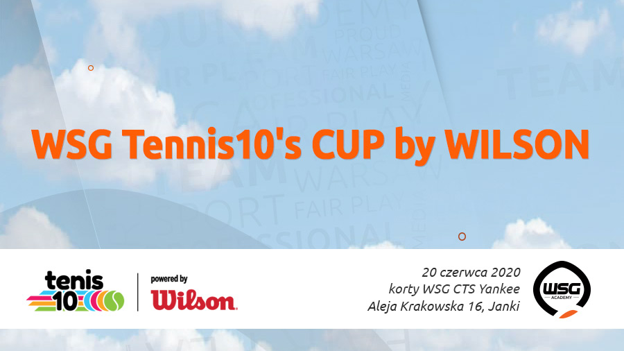 WSG Tennis10's CUP by WILSON