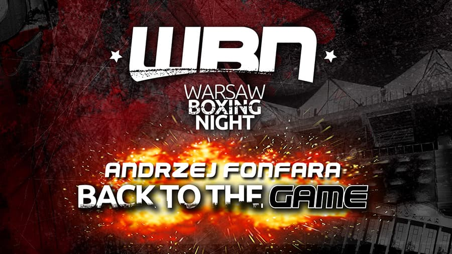 Andrzej Fonfara. Back To The Game