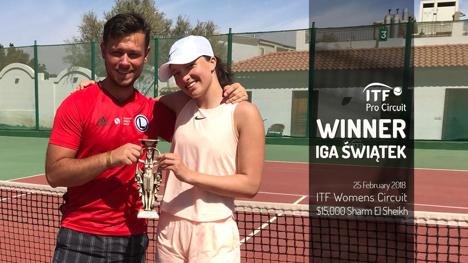 Iga Świątek - Warsaw Sports Group